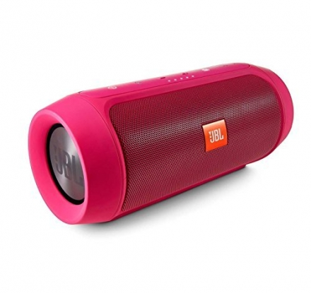 JBL Charge 2+ Splashproof Portable Bluetooth Speaker (Pink)