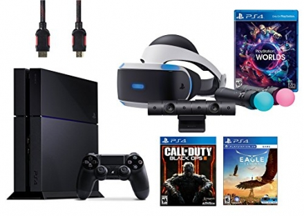 PlayStation VR Launch Bundle 3 Items:VR Launch Bundle,PlayStaion4 Call of Duty Black Ops III,VR Game