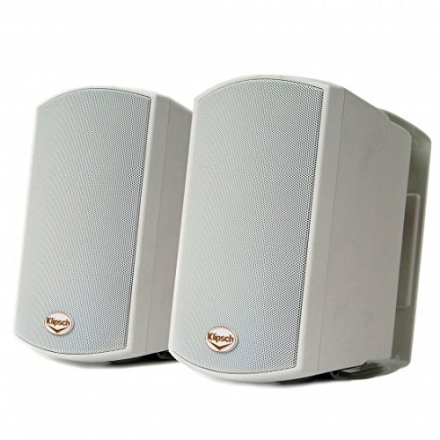 Klipsch AW-400 Indoor/Outdoor Speaker – White (Pair)
