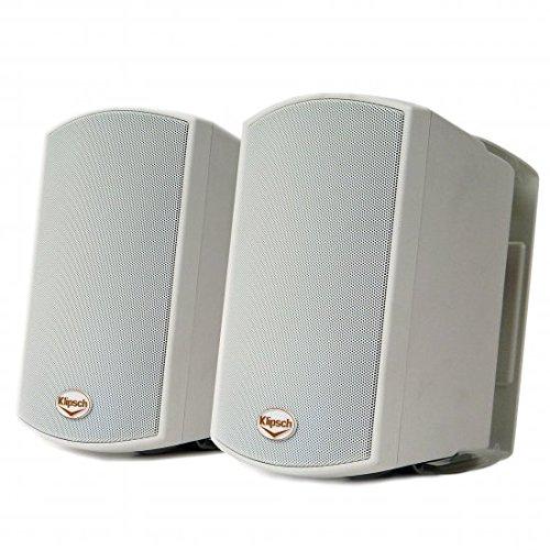 Klipsch AW-400 Indoor/Outdoor Speaker – White (Pair)