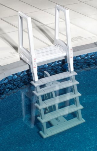 Blue Wave NE1175 Heavy Duty In-Pool Ladder – White