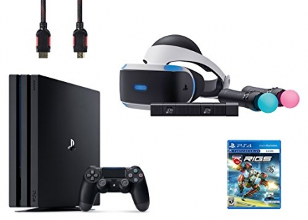 PlayStation VR Start Bundle 5 Items:VR Headset,Move Controller,PlayStation Camera Motion Sensor,Play