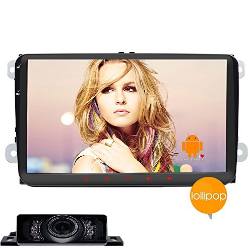 Quad-core Android 5.1.1 Double 2din VW Car Stereo in Dash 9Inch Tablet Headunit for Volkswagen Golf