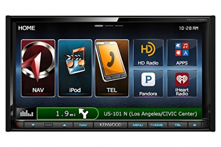 Kenwood DNX772BH 6.95 Inch Touchscreen Navigation Reciever