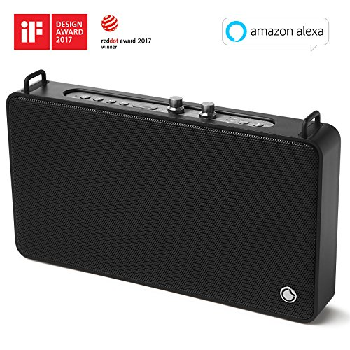 GGMM E5 Wireless Smart Speaker with Amazon Alexa, WiFi+Bluetooth, Multi Room Audio Speaker for Music